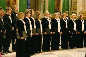 Choir at St.Isaac's Cathedral