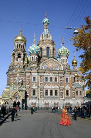 Church of the savior on blood, St. Petersburg