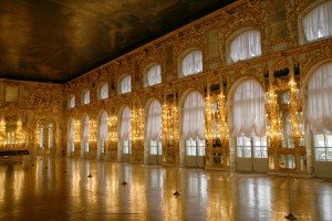 Great Hall at Catherine's Palace in Pushkin
