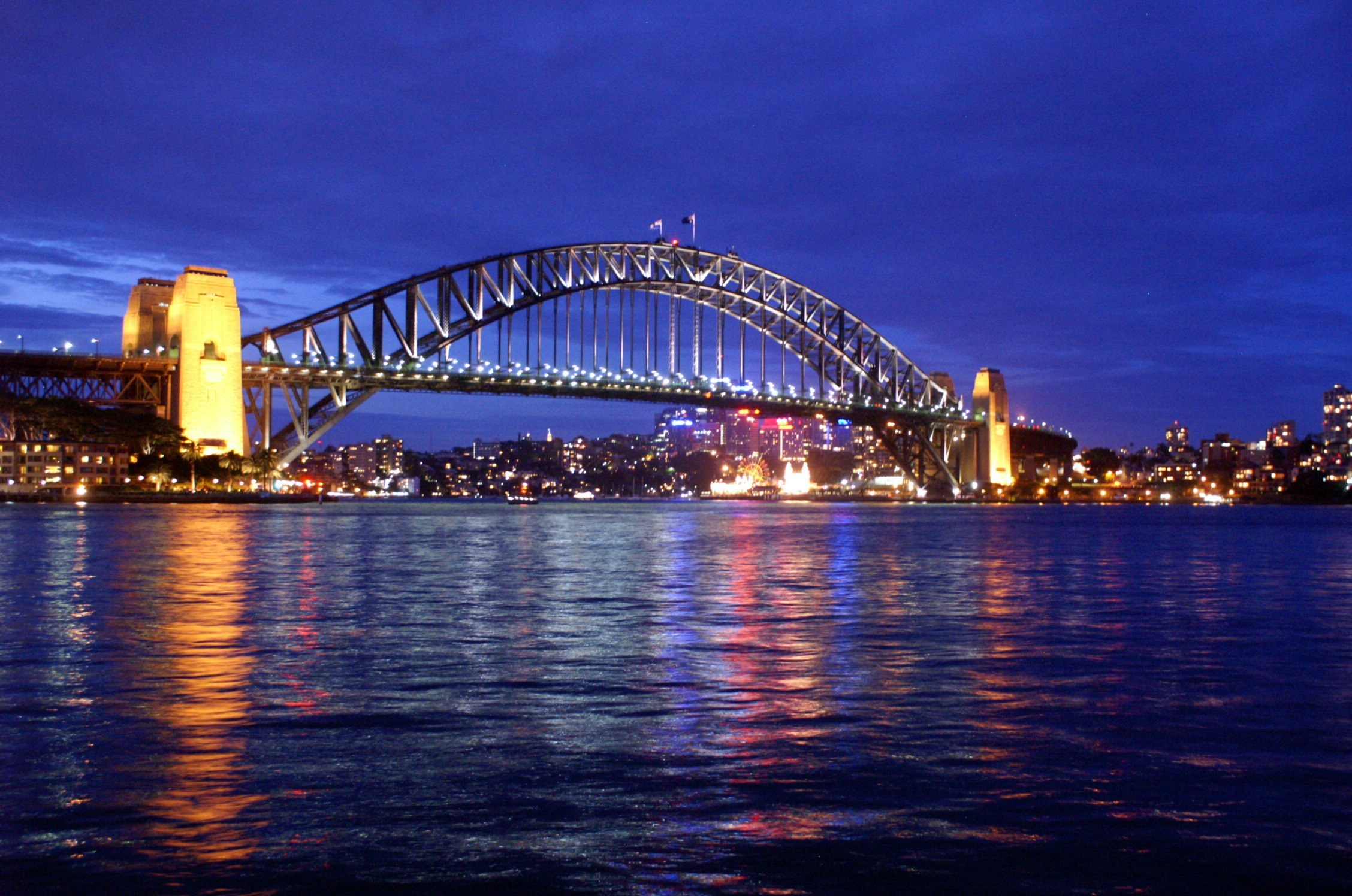 Sydney Harbour Bridge in the Twilight