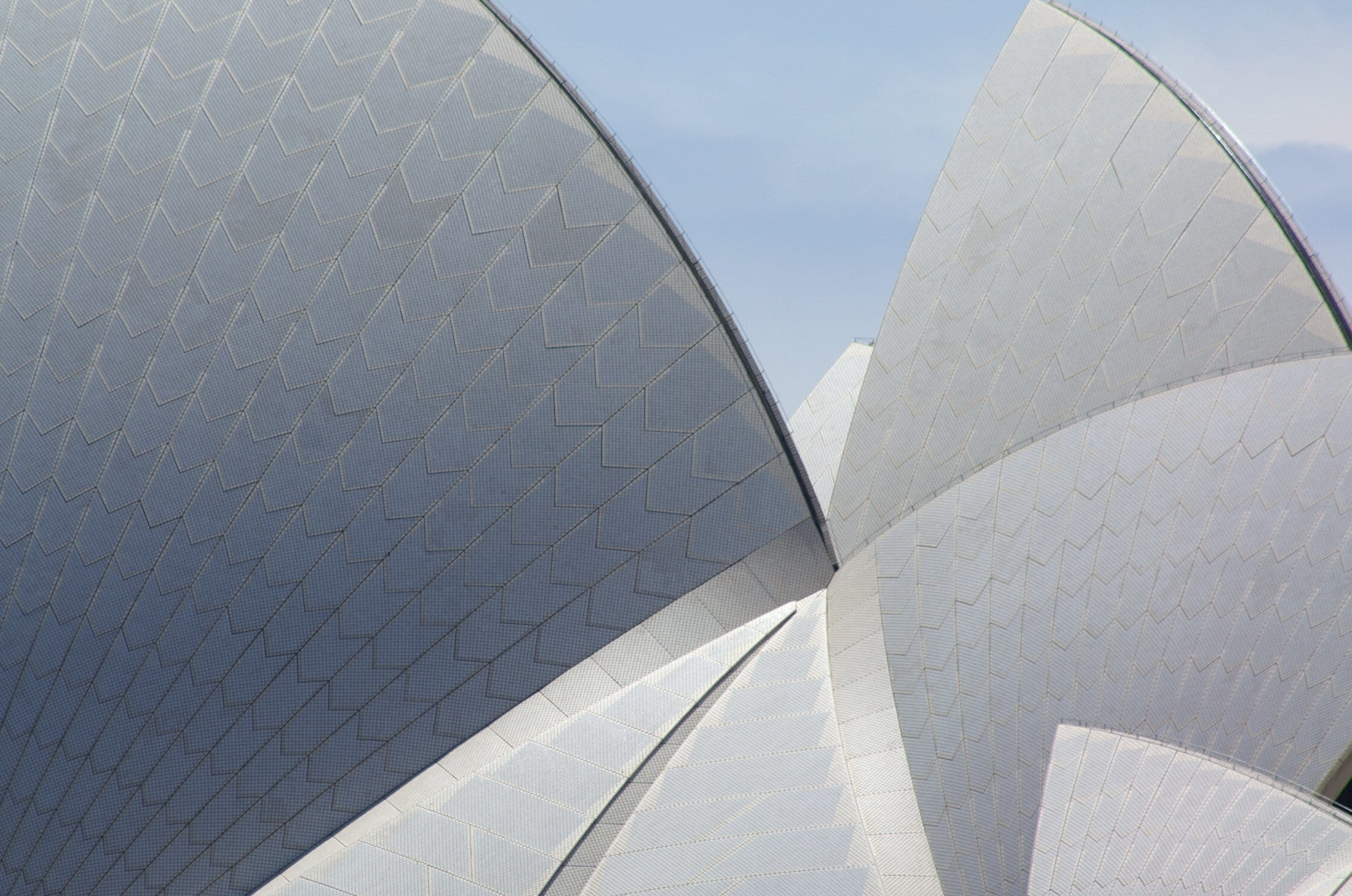 Sydney Opera House Shell Structure