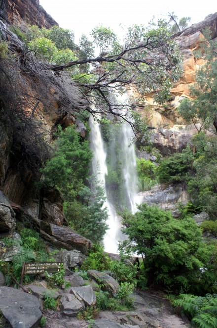 Beehive Falls in the Grampians National Park, Victoria, Australia