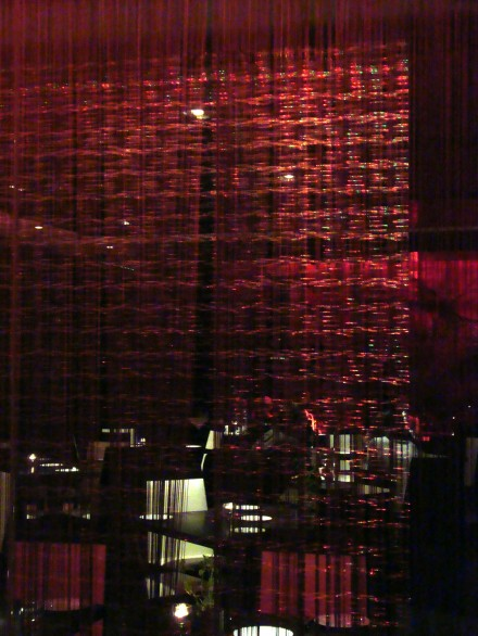 Red illumination Brasserie-Joel-restaurant-Park-Plaza-Hotel-Westminster-Bridge