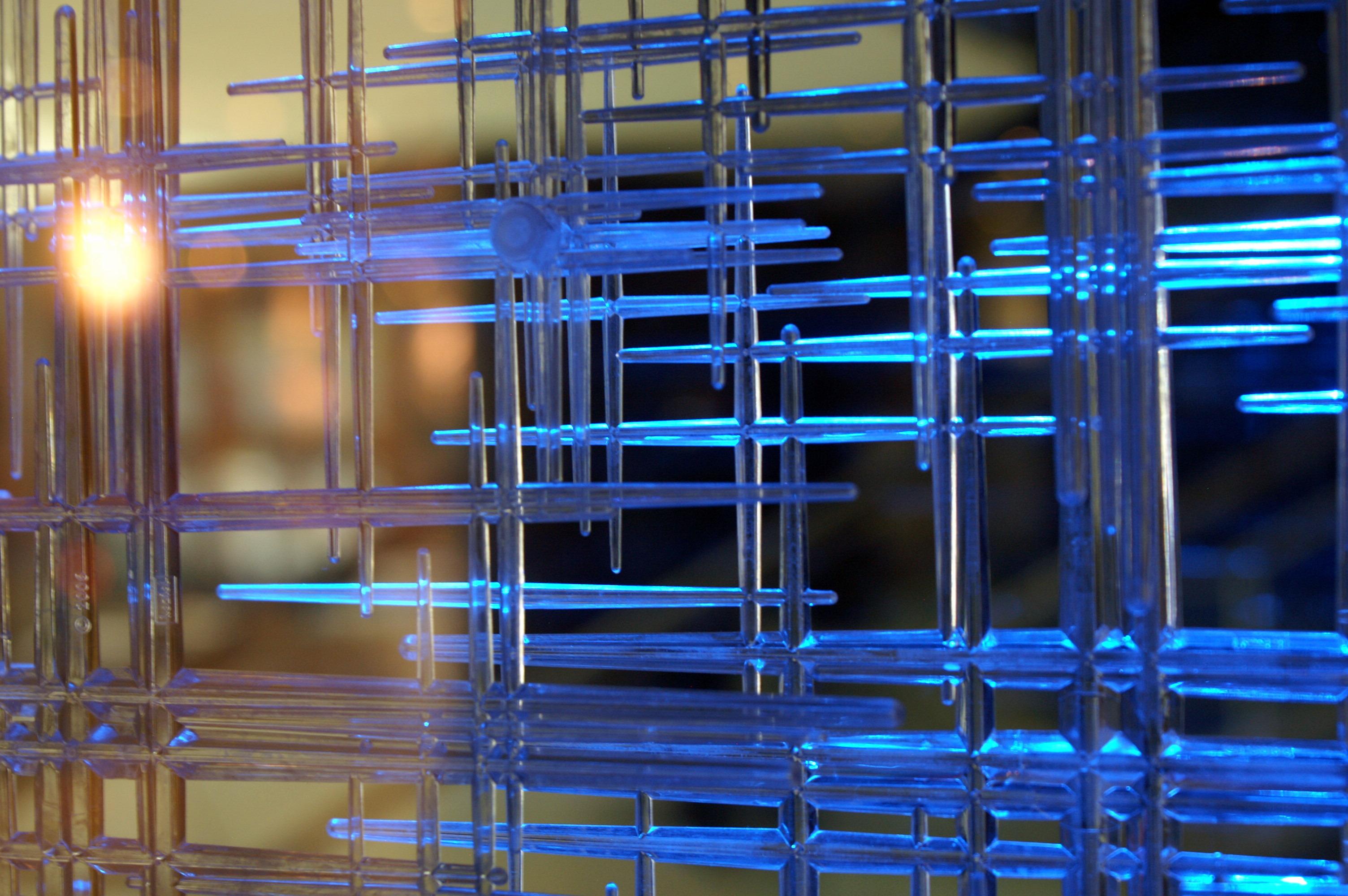 Close-up light-effect-decoration-lobby-park-plaza-hotel-westminster-bridge-london
