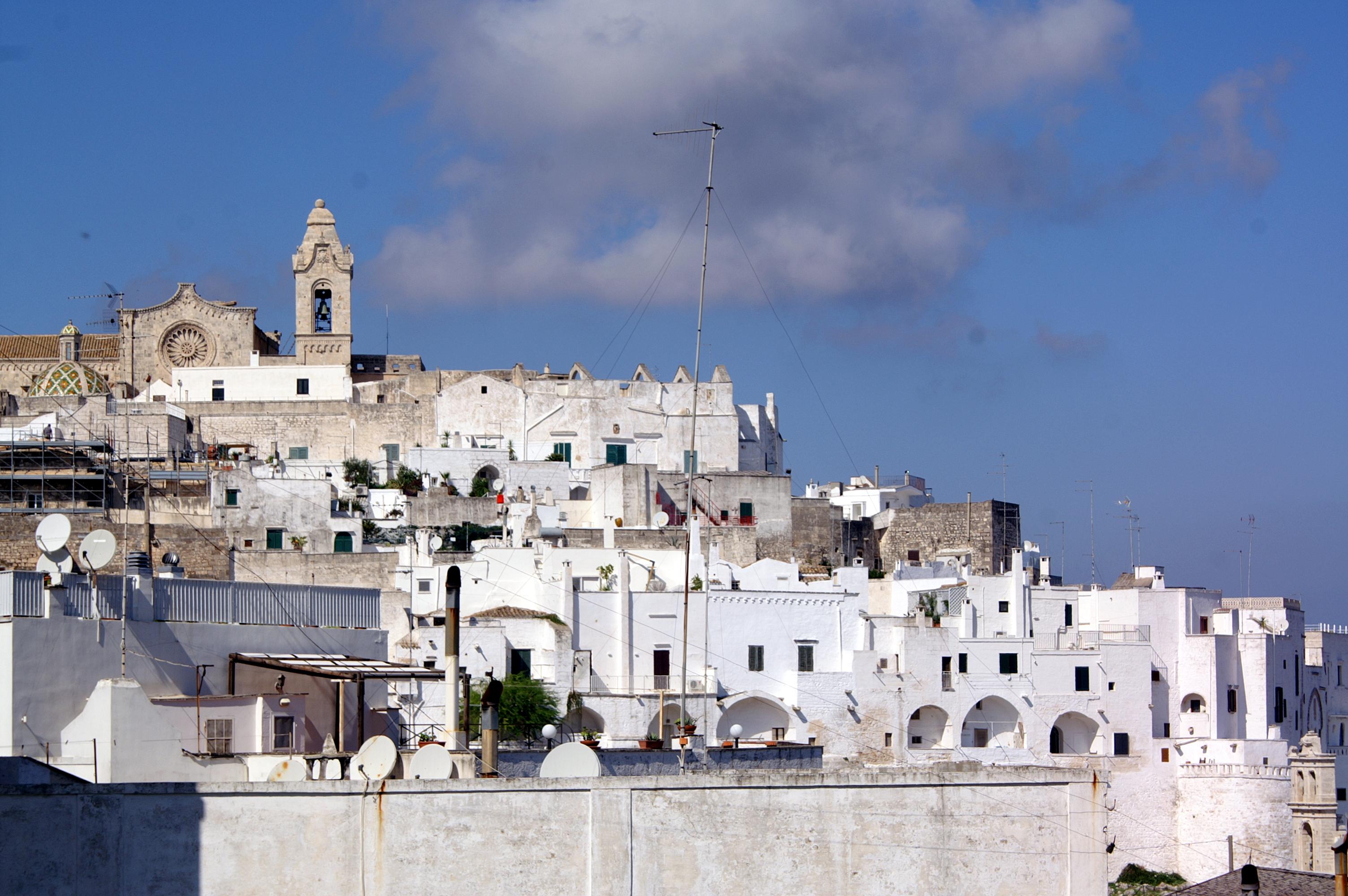 Ostuni - White City in Puglia, Italy