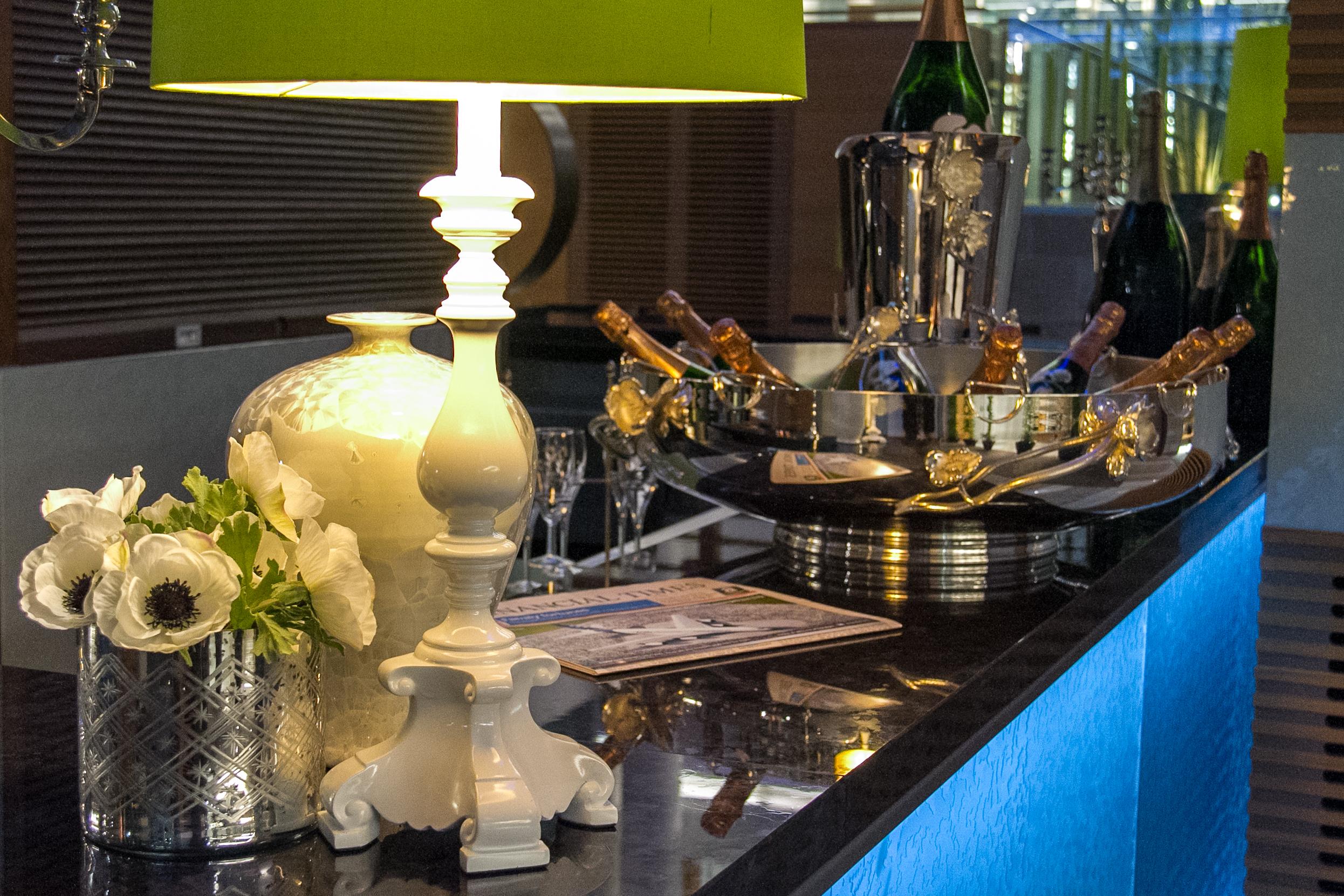 Perrier Jouet Bar im Sofitel Hotel London Heathrow