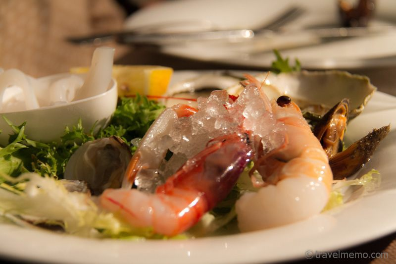 Crudo di Mare (raw seafood)