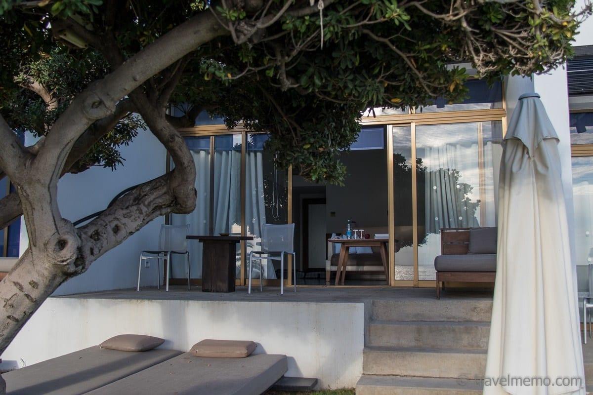 Kyma Suite Terrasse