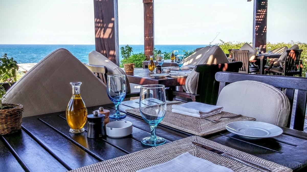 Restaurant Terrasse beim Pool