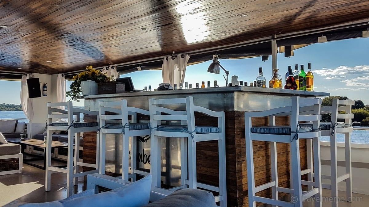 Bar auf dem Signature Deck