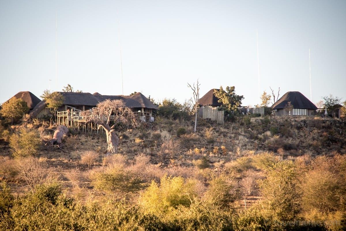 Blick auf Ngoma Safari Lodge
