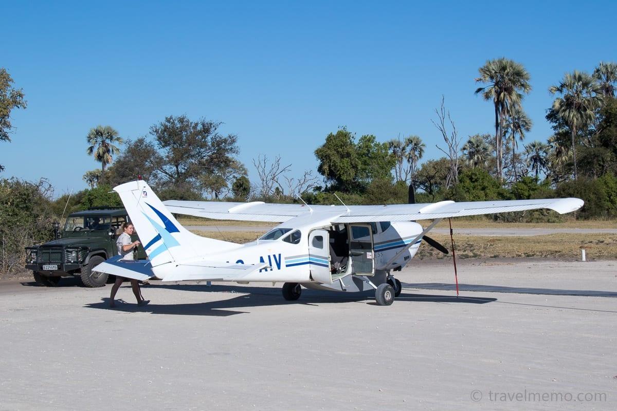 Cessna und Safari Jeep