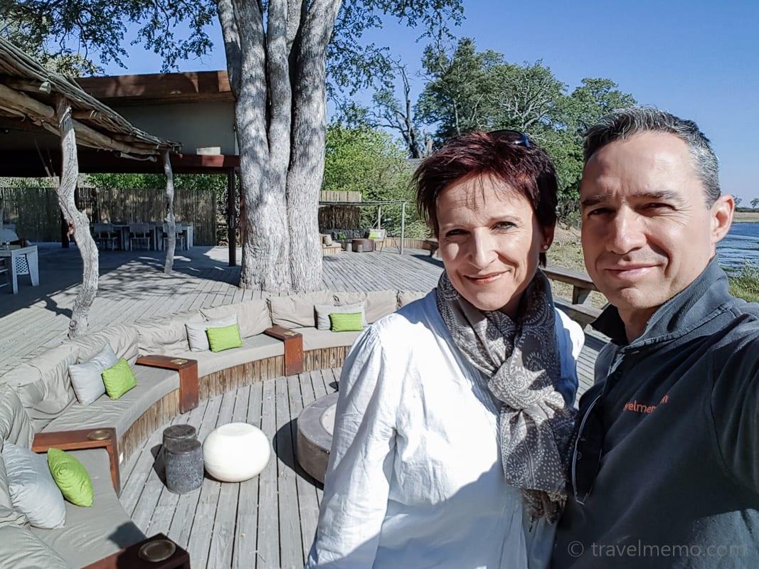 Katja und Walter im Kings Pool
