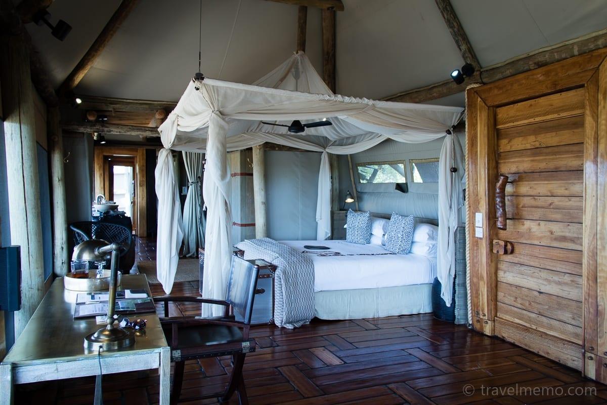 Zelt mit dem grossen Schlafzimmer