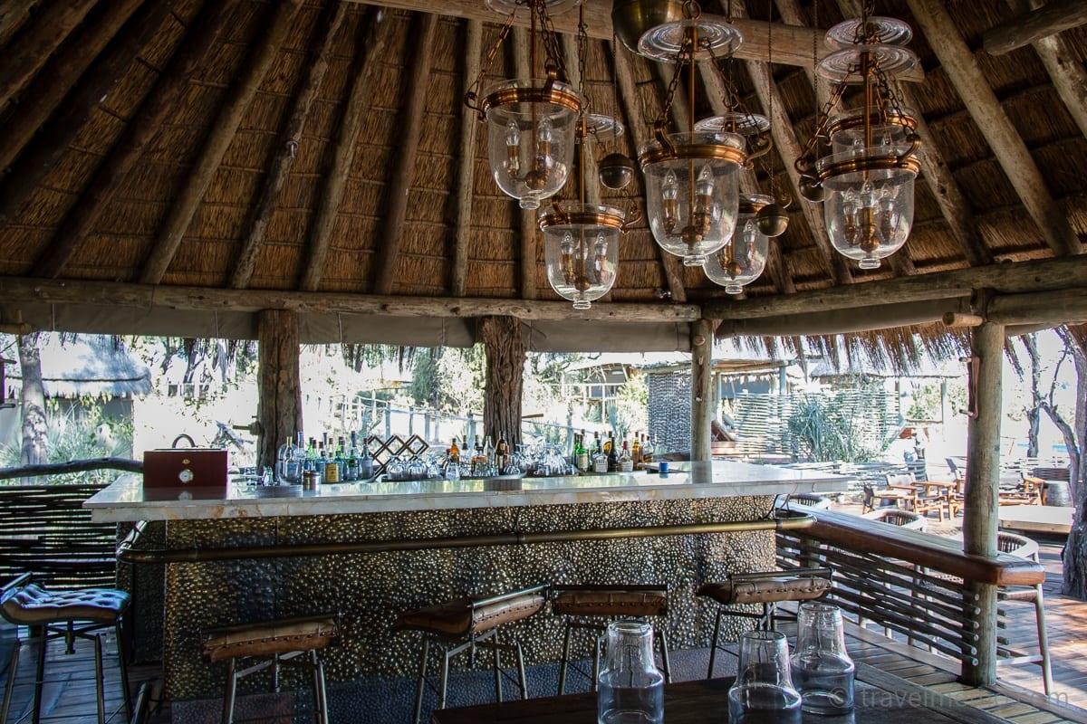Bar at Mombo Camp